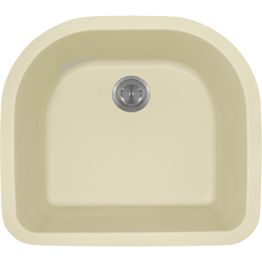 Polaris P428BE D-Bowl AstraGranite Sink Bowl Sink Polaris