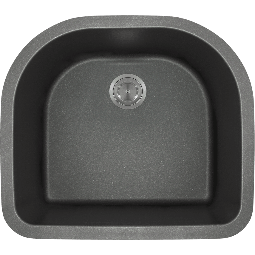 Polaris P428BL D-Bowl AstraGranite Sink Bowl Sink Polaris