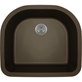 Bowl Sink - Polaris P428M D-Bowl AstraGranite Sink