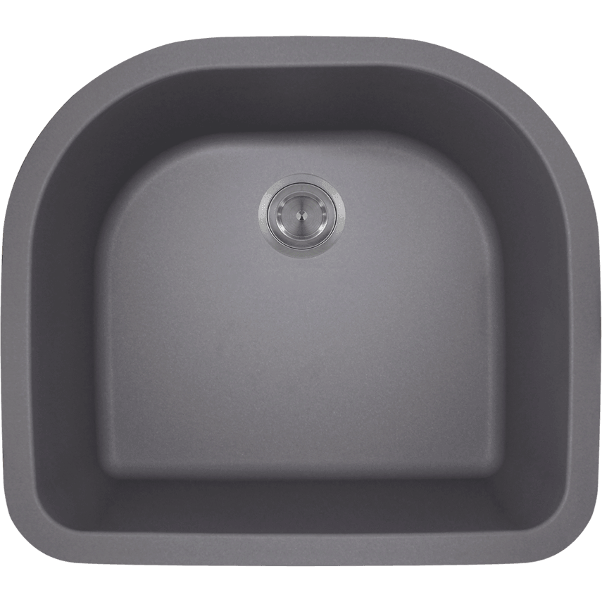 Polaris P428S D-Bowl AstraGranite Sink Bowl Sink Polaris