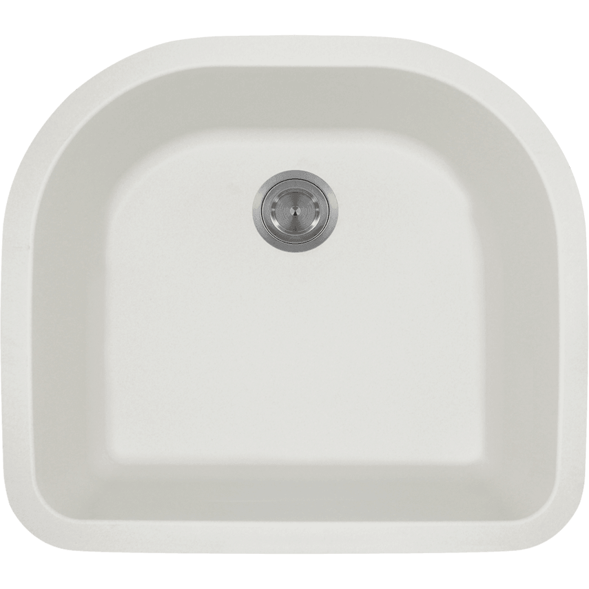 Polaris P428W D-Bowl AstraGranite Sink Bowl Sink Polaris