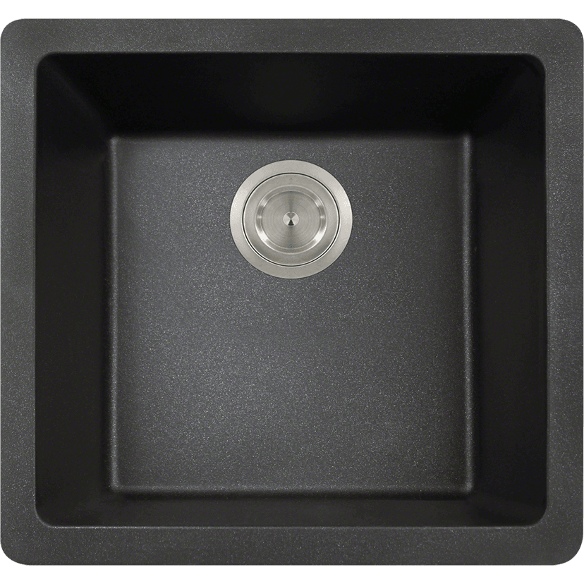 Polaris P508BL Single Bowl AstraGranite Sink Bowl Sink Polaris
