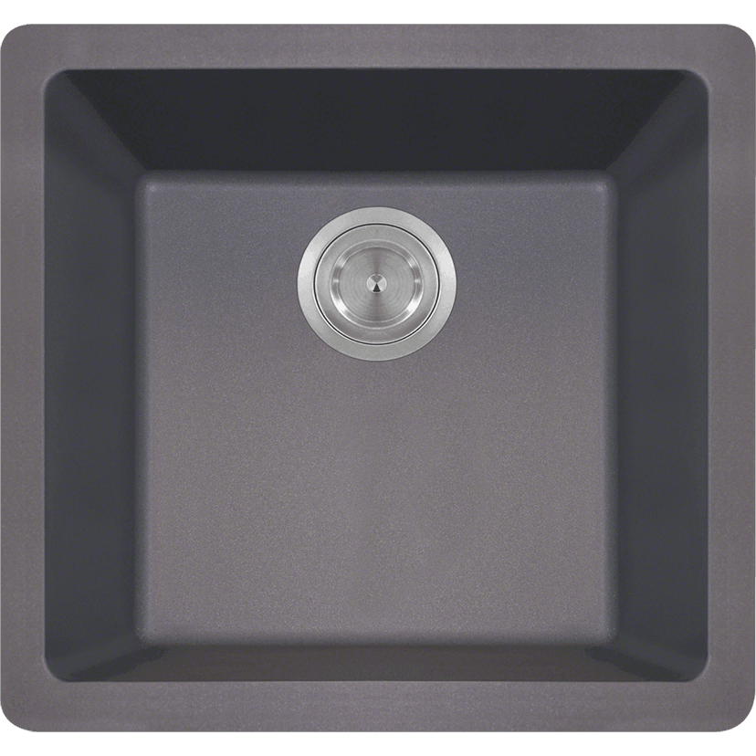 Polaris P508S Single Bowl AstraGranite Sink Bowl Sink Polaris