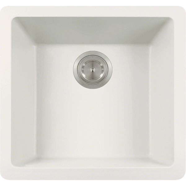 Bowl Sink - Polaris P508W Single Bowl AstraGranite Sink