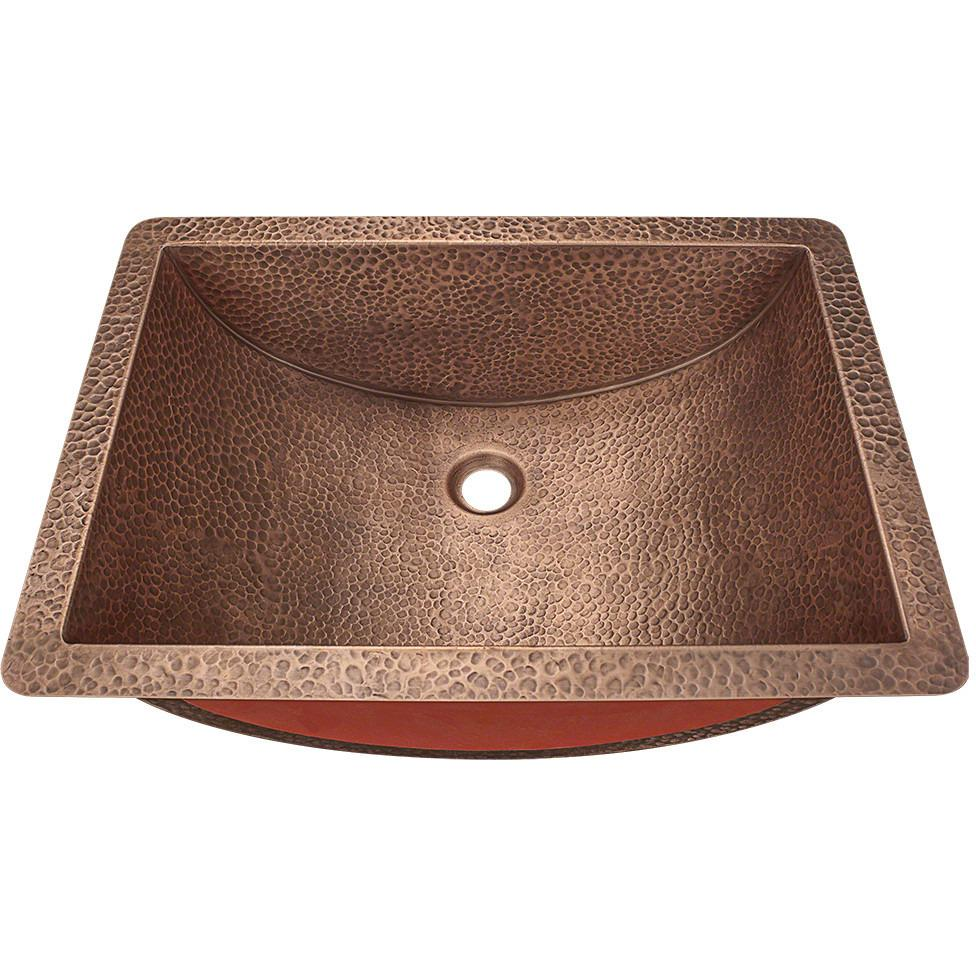 Polaris P629 Single Bowl Copper Sink Bowl Sink Polaris
