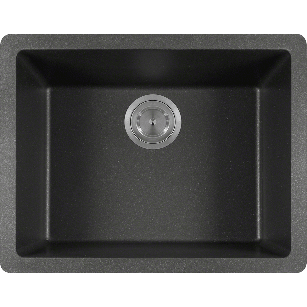 Polaris P808BL Single Bowl AstraGranite Sink Bowl Sink Polaris