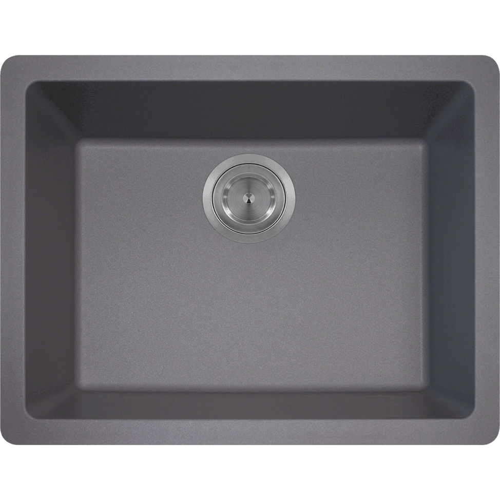 Polaris P808S Single Bowl AstraGranite Sink Bowl Sink Polaris