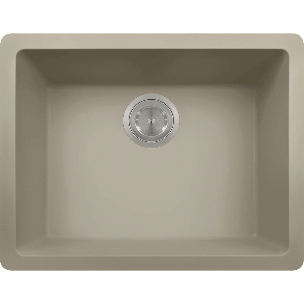 Polaris P808ST Single Bowl AstraGranite Sink Bowl Sink Polaris