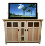 "Touchstone Bungalow Unfinished Full Size Lift Cabinets For Up To 60"" Flat Screen Tv'S"