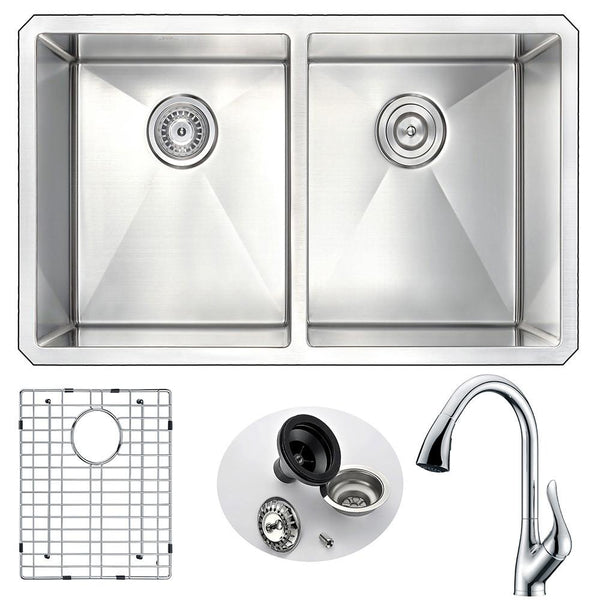 ANZZI VANGUARD Series K32192A-031 Kitchen Sink