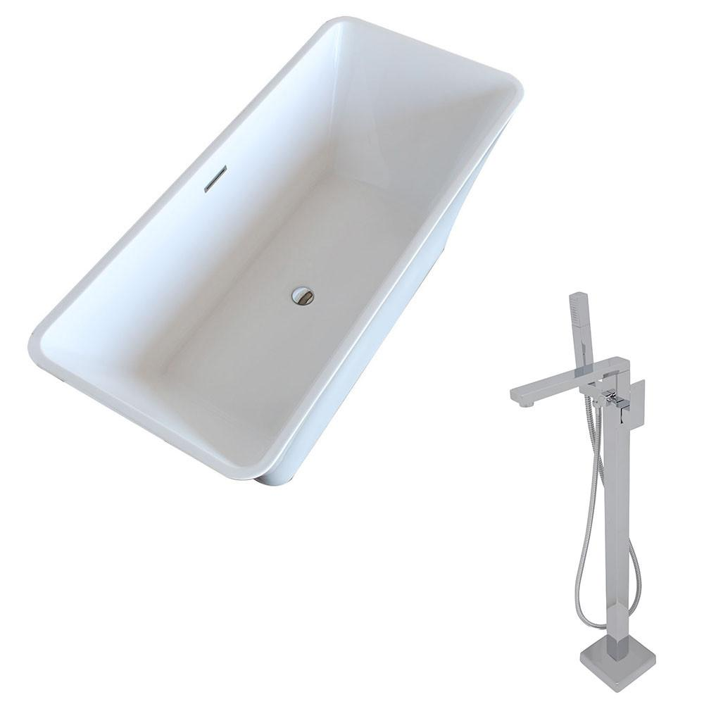 ANZZI Arden FT006-0028 Bathtub Bathtub ANZZI