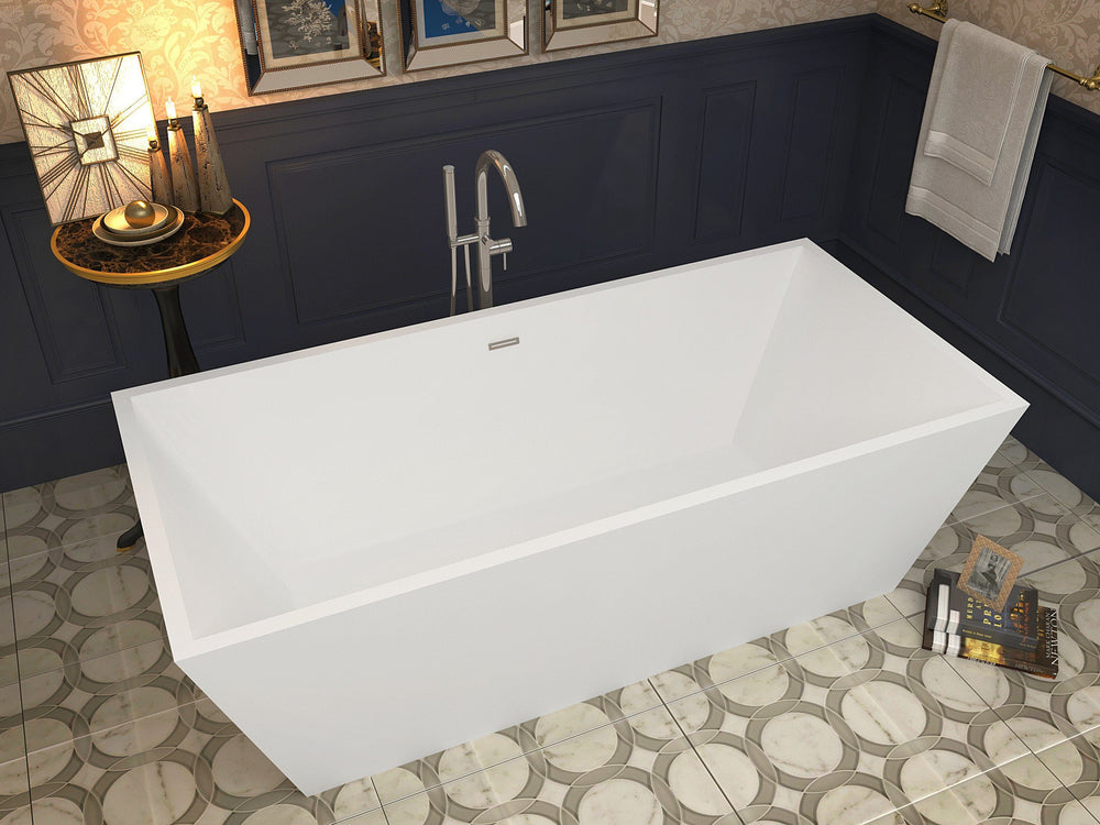 ANZZI Fjord FT-AZ002 FreeStanding Bathtub FreeStanding Bathtub ANZZI