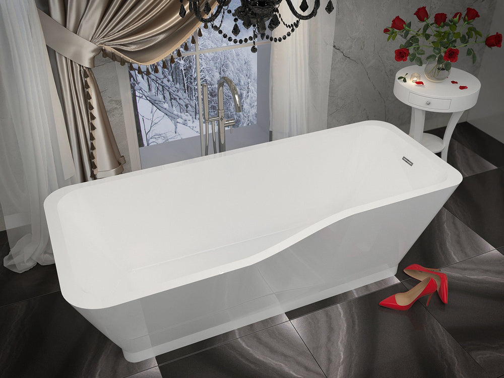 ANZZI Salva FT-AZ004 FreeStanding Bathtub FreeStanding Bathtub ANZZI