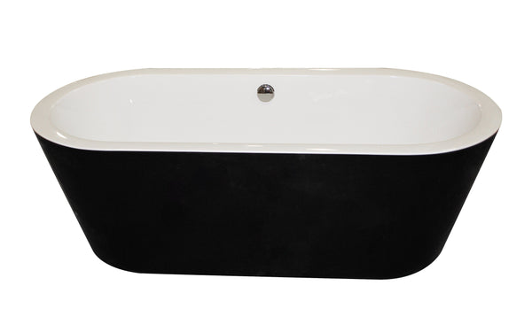 ANZZI Dualita FT-AZ011 FreeStanding Bathtub