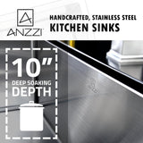 ANZZI VANGUARD Series K-AZ3219-2A Kitchen Sink