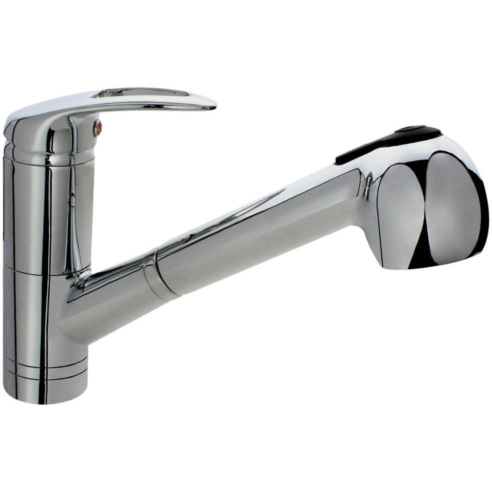 Sir Faucet 708 Kitchen Faucet with Pull-Out Spray Kitchen Faucet Sir Faucet Chrome