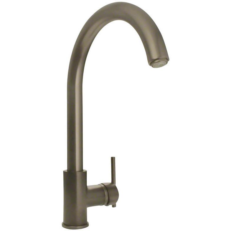 Sir Faucet 711 Single Handle Kitchen Faucet Kitchen Faucet Sir Faucet Brushed Nickel