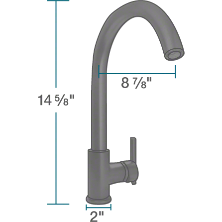 Sir Faucet 711 Single Handle Kitchen Faucet Kitchen Faucet Sir Faucet
