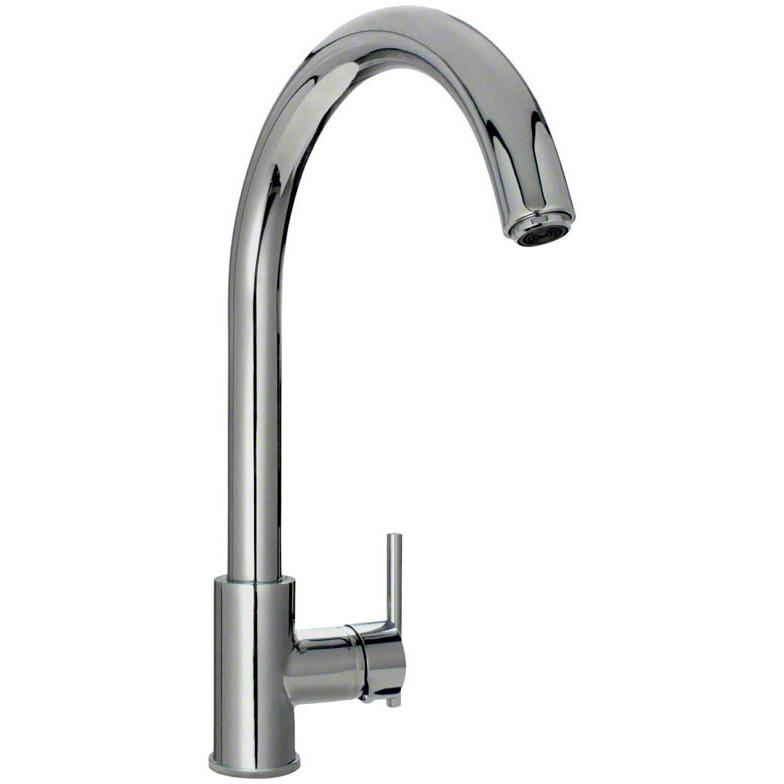 Sir Faucet 711 Single Handle Kitchen Faucet Kitchen Faucet Sir Faucet Chrome