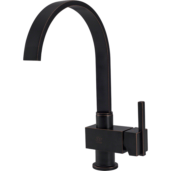 Kitchen Faucet - Sir Faucet 712-ABR Antique Bronze Single Handle Kitchen Faucet