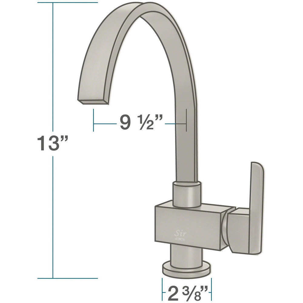 Sir Faucet 712- Single Handle Kitchen Faucet Kitchen Faucet Sir Faucet
