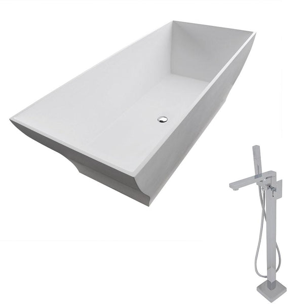 ANZZI Crema FT509-0028 FreeStanding Bathtub