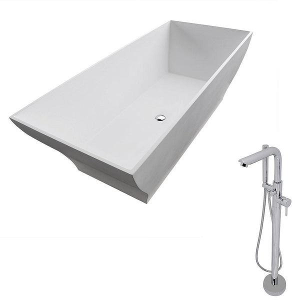 ANZZI Crema FT509-0026 FreeStanding Bathtub