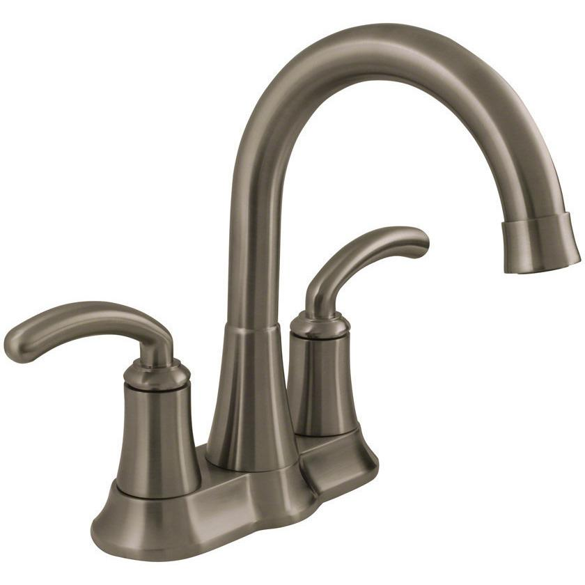 Sir Faucet 7042 Two Handle Lavatory Faucet Lavatory Faucet Sir Faucet Brushed Nickel