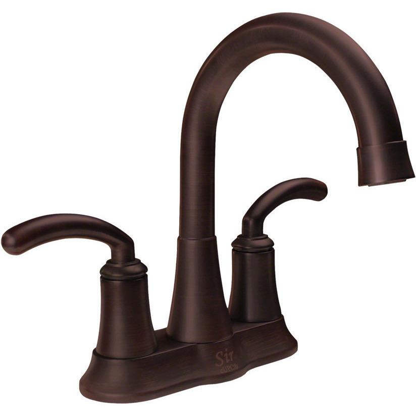 Sir Faucet 7042 Two Handle Lavatory Faucet Lavatory Faucet Sir Faucet Oil Rubbed Bronze
