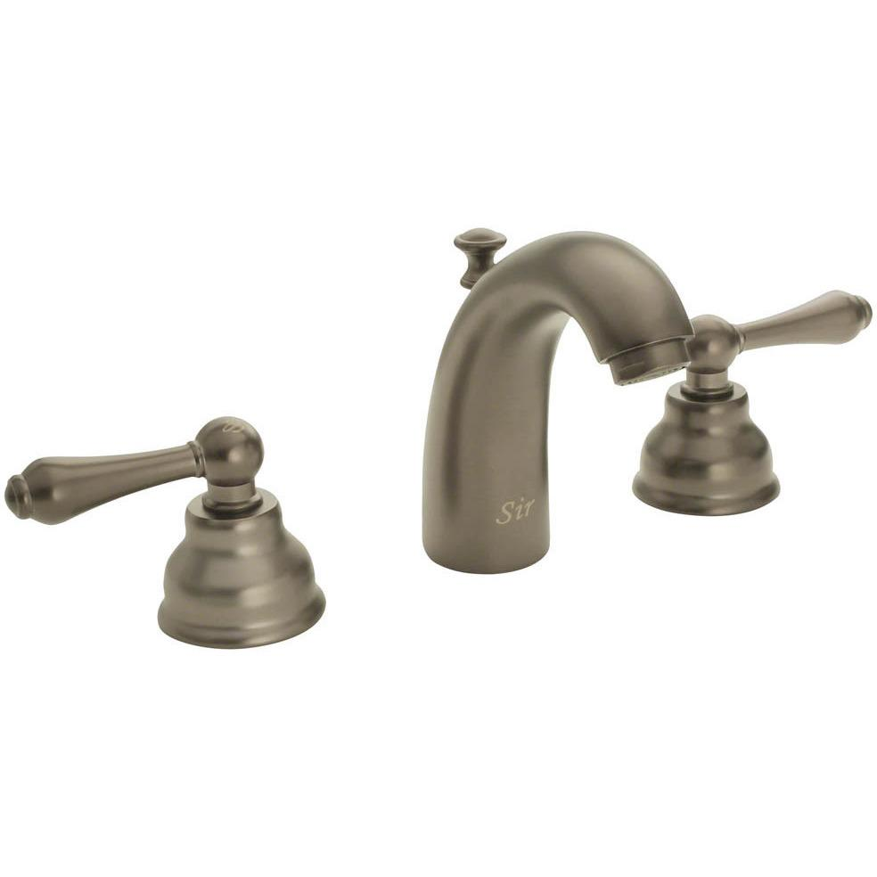 Sir Faucet 706- Wide Spread Lavatory Faucet Lavatory Faucet Sir Faucet Brushed Nickel