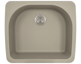 Polaris P428TST D-Bowl Topmount AstraGranite Sink