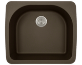 Polaris P428TM D-Bowl Topmount AstraGranite Sink