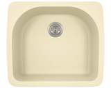 Polaris P428TBE D-Bowl Topmount AstraGranite Sink