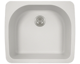 Polaris P428TW D-Bowl Topmount AstraGranite Sink