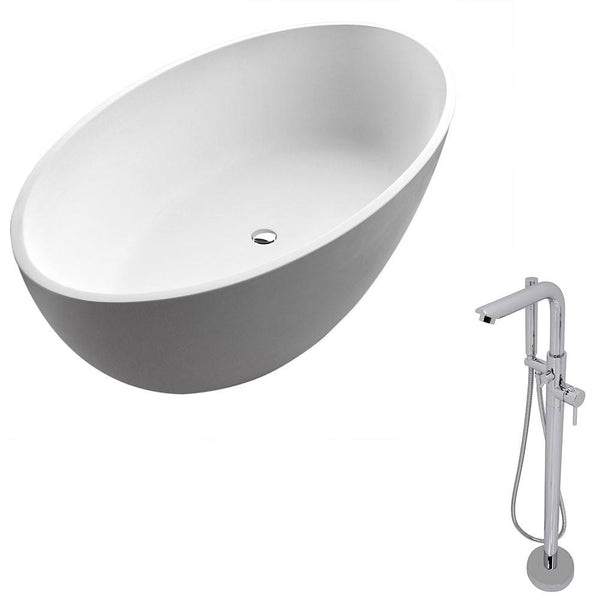 ANZZI Cestino FT510-0026 FreeStanding Bathtub