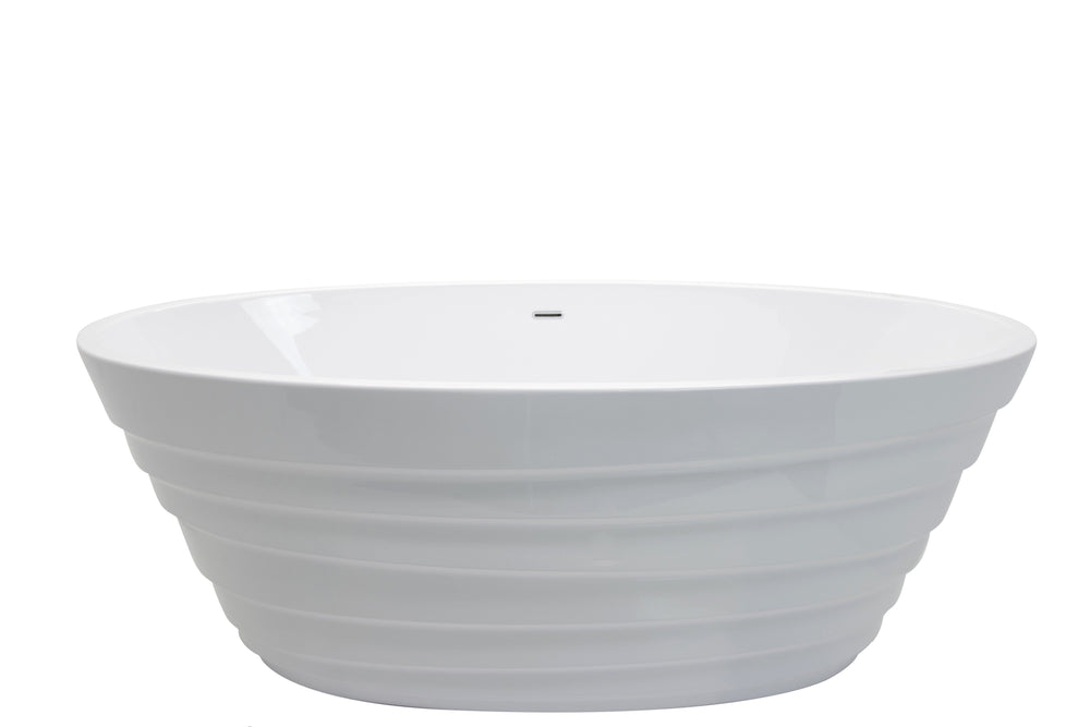 ANZZI Nimbus FT-AZ068 FreeStanding Bathtub FreeStanding Bathtub ANZZI