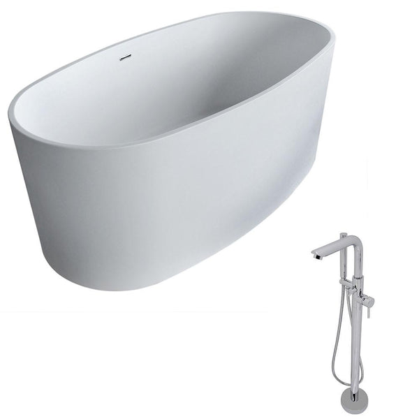 ANZZI Roccia FT505-0026 FreeStanding Bathtub