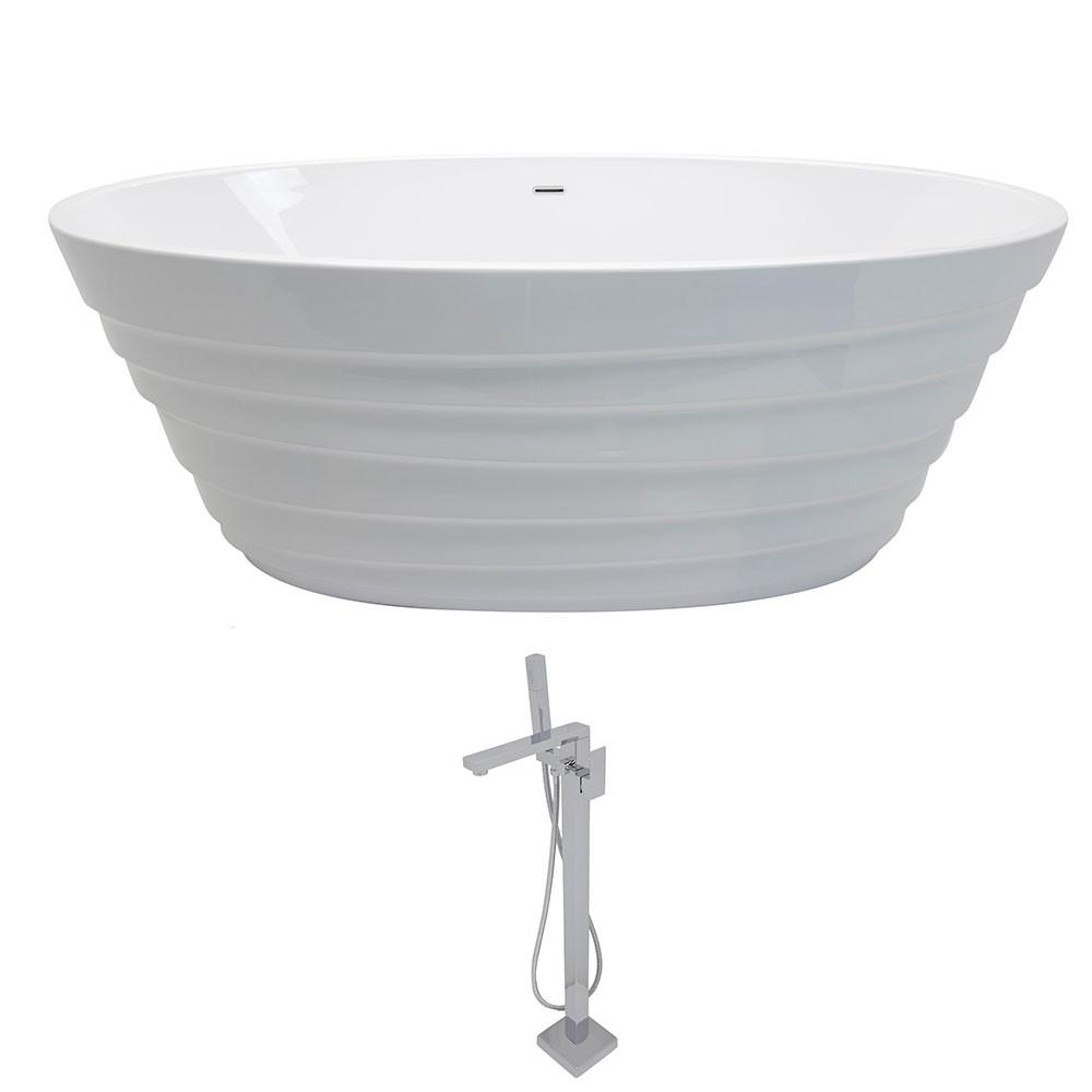 ANZZI Nimbus FT068-0028 Bathtub Bathtub ANZZI