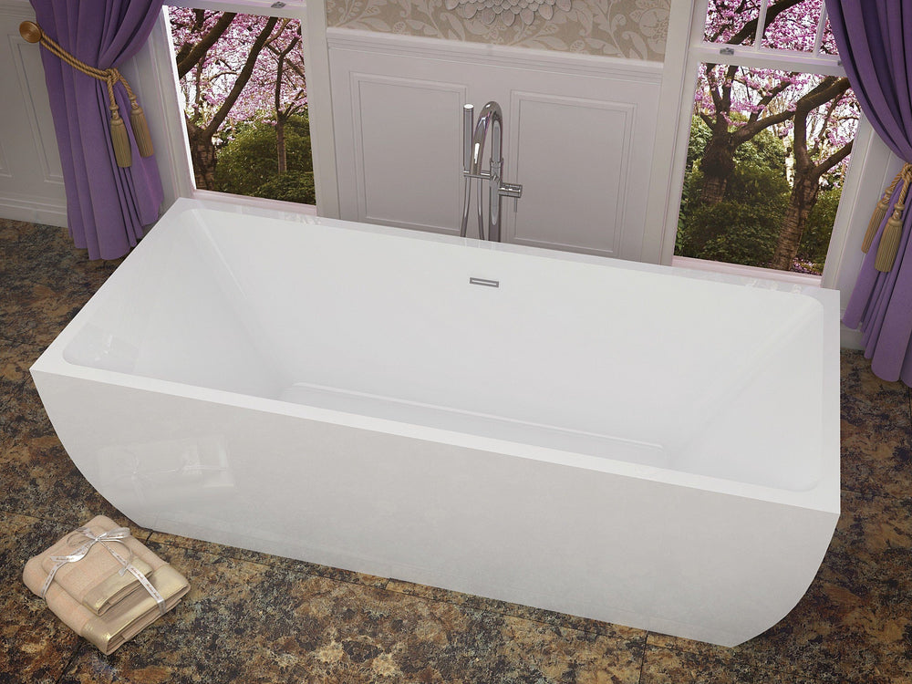 ANZZI Rook FT-AZ007 FreeStanding Bathtub FreeStanding Bathtub ANZZI