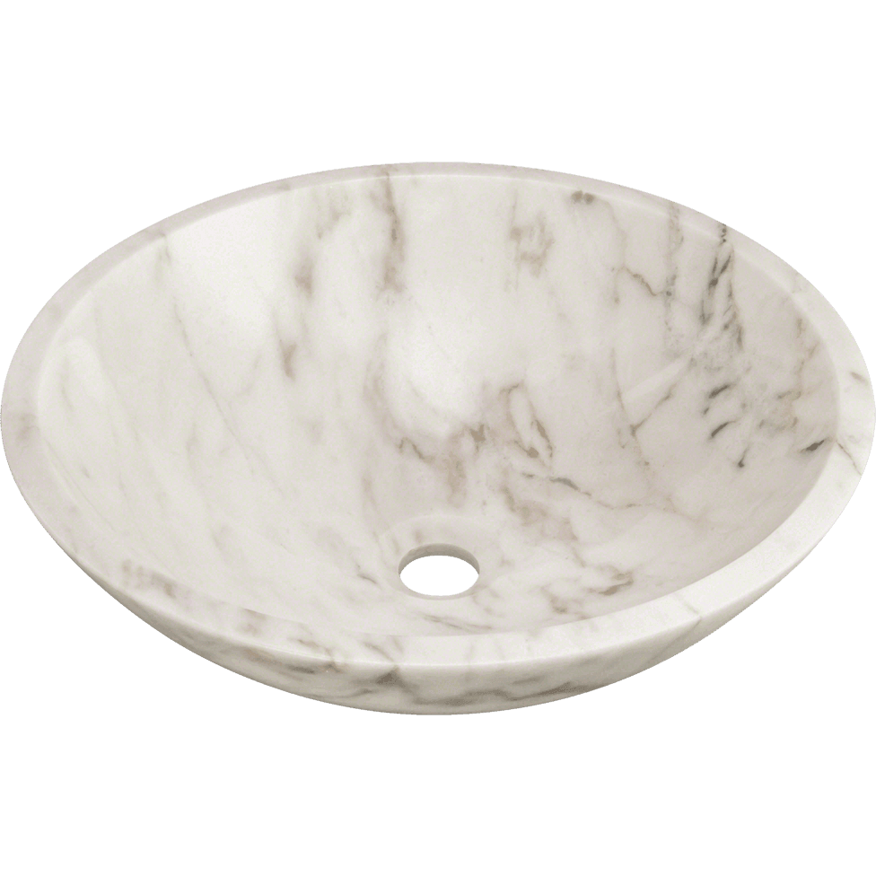 Polaris P058W Granite Vessel Sink Stone Series Polaris