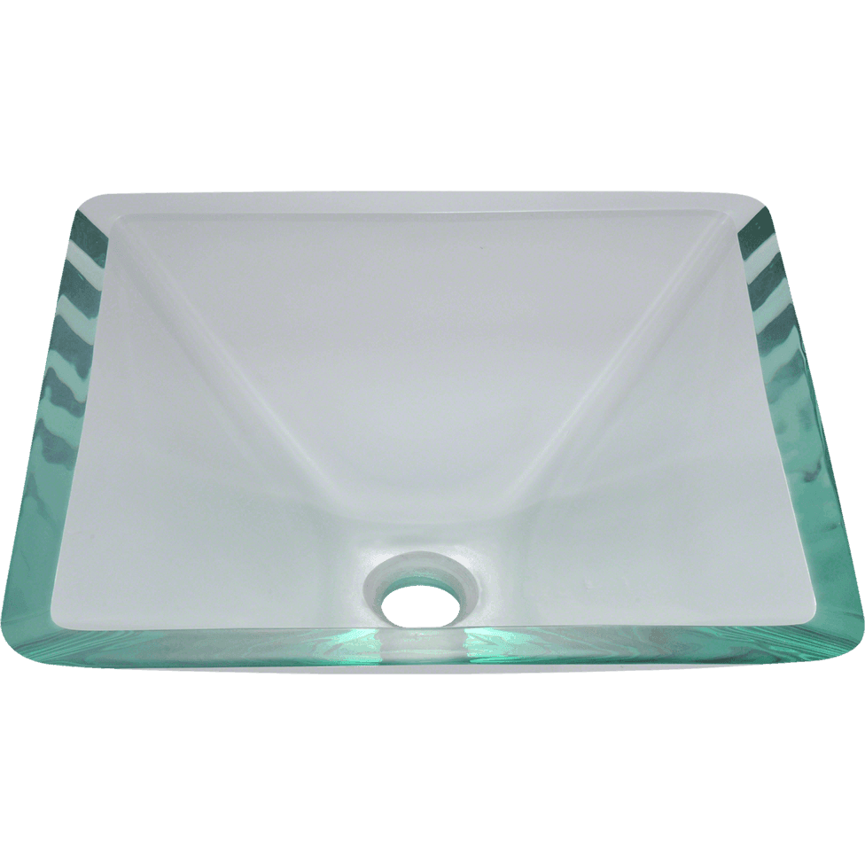 Polaris P306CR Glass Vessel Sink Vessel Sink Polaris