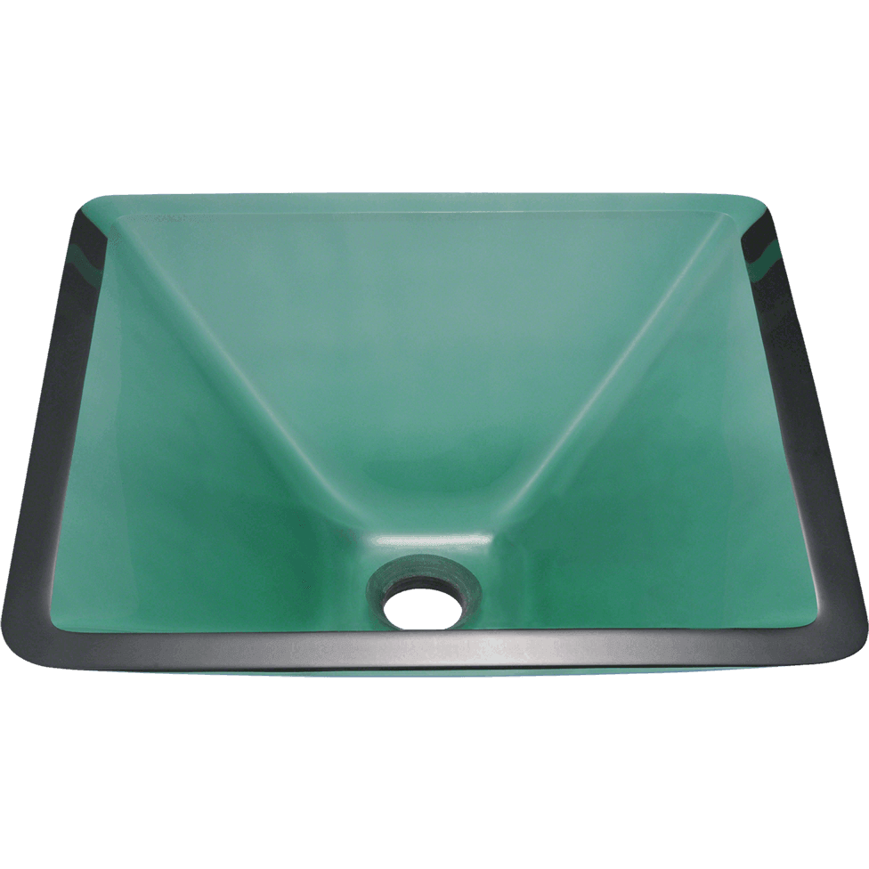 Polaris P306E Colored Glass Vessel Sink Vessel Sink Polaris