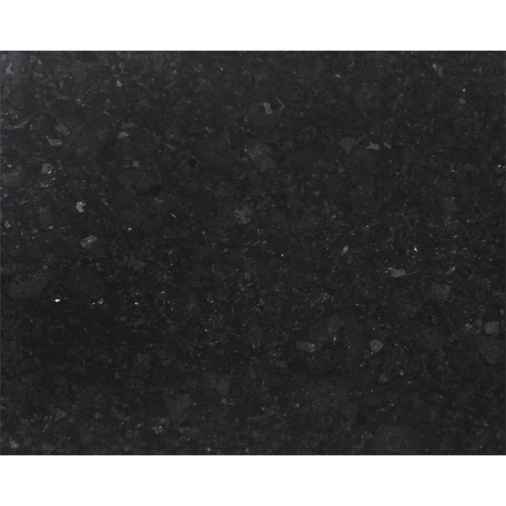 Polaris P458 Honed Basalt Black Granite Vessel Sink Stone Series Polaris