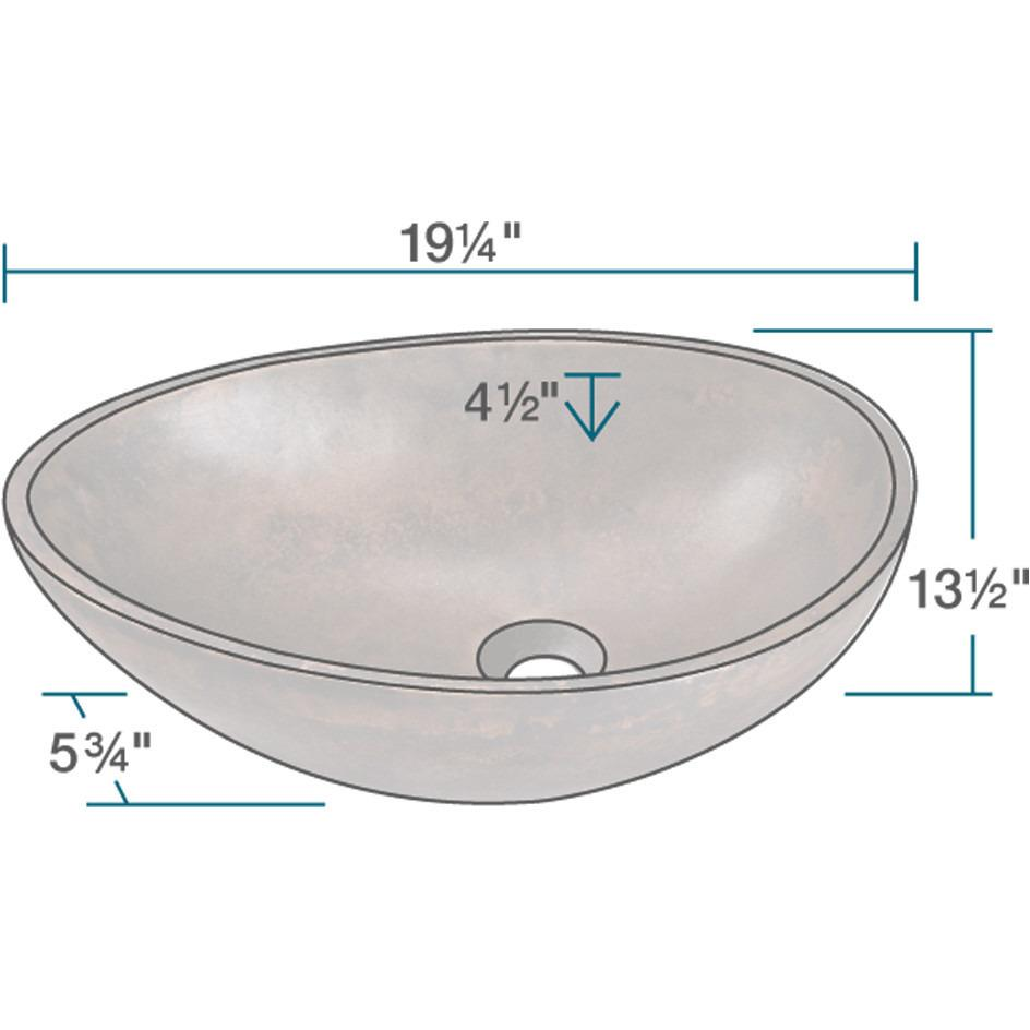 Polaris P659 Bronze Vessel Sink Vessel Sink Polaris