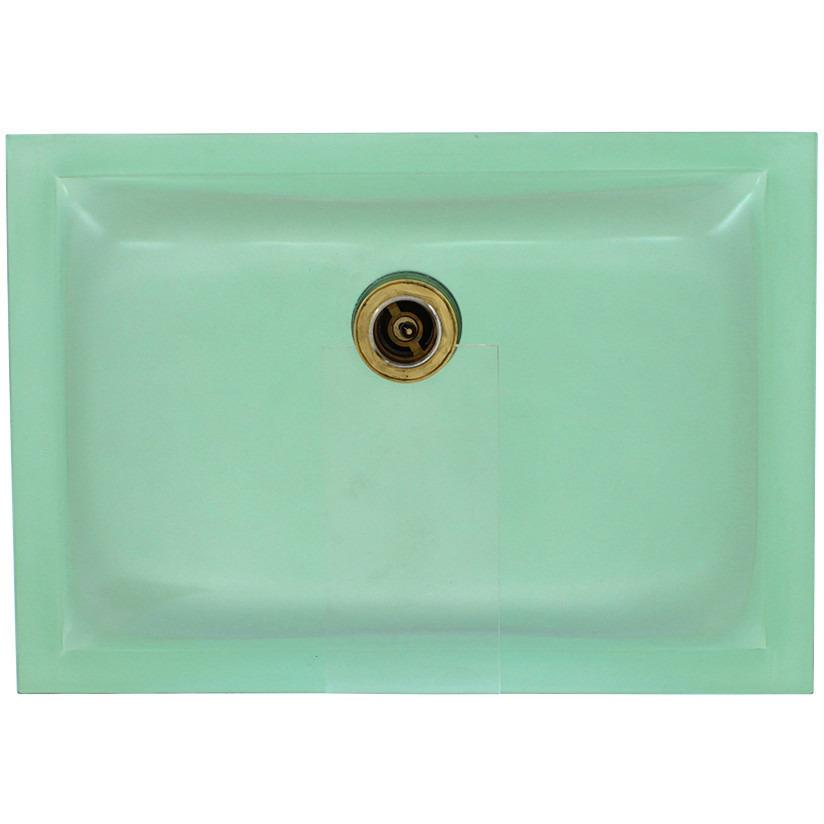 Polaris PUG3191E Undermount Rectangular Glass Sink Vessel Sink Polaris