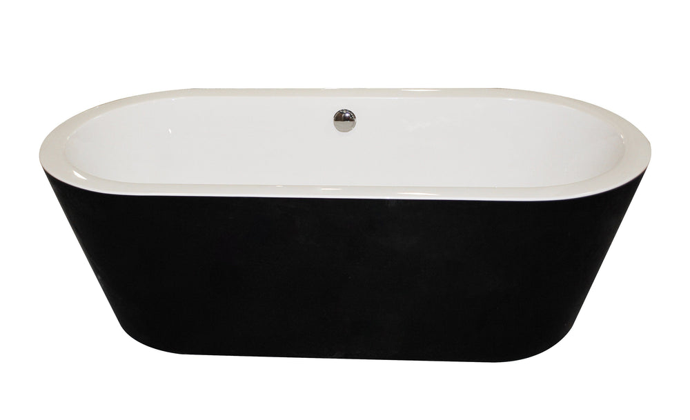 ANZZI Dualita FT-AZ013 FreeStanding Bathtub FreeStanding Bathtub ANZZI