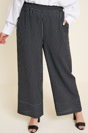 OUT OF THE OFFICE PALAZZO PANTS