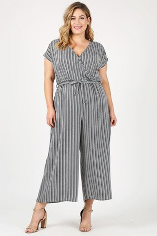 TILDA STRIPED JUMPSUIT