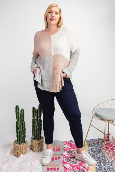 SQUARED AWAY SWEATER
