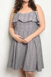 TEATIME PLAID DRESS